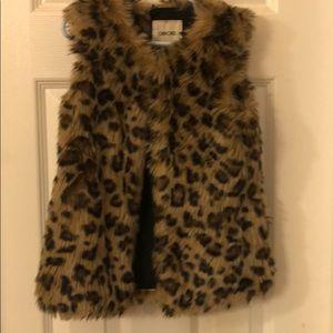 Leopard 🐆 Cherokee Vest
